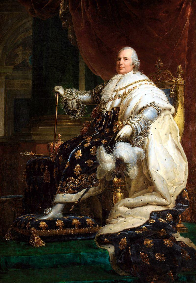 LOUIS XVIII par François GERARD