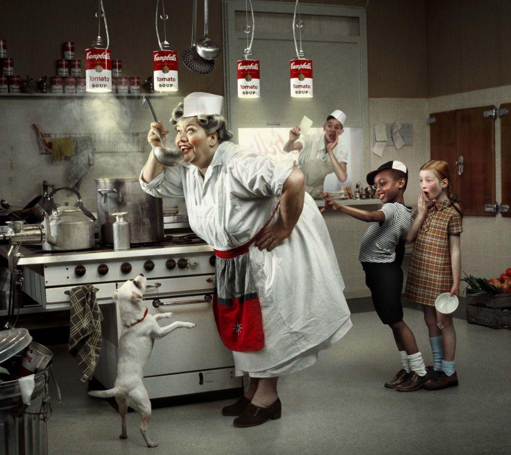 OLAF la cuisinière