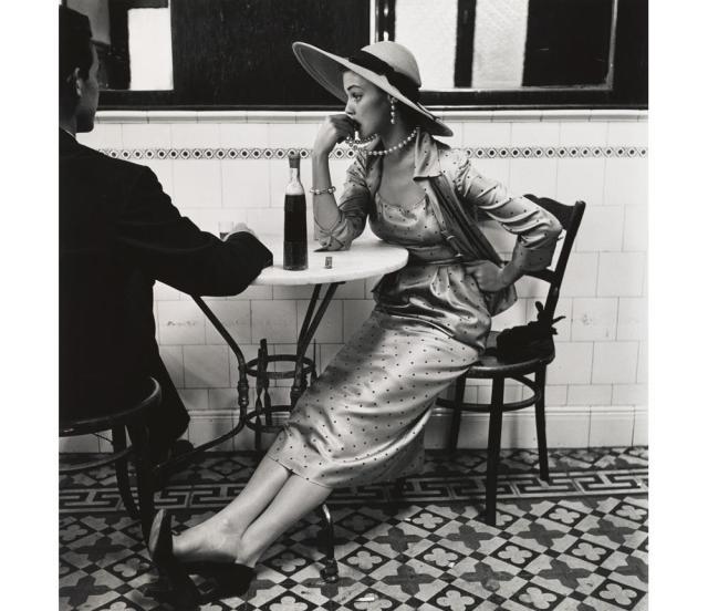 PENN Café à Lima Jean Patchett 1948