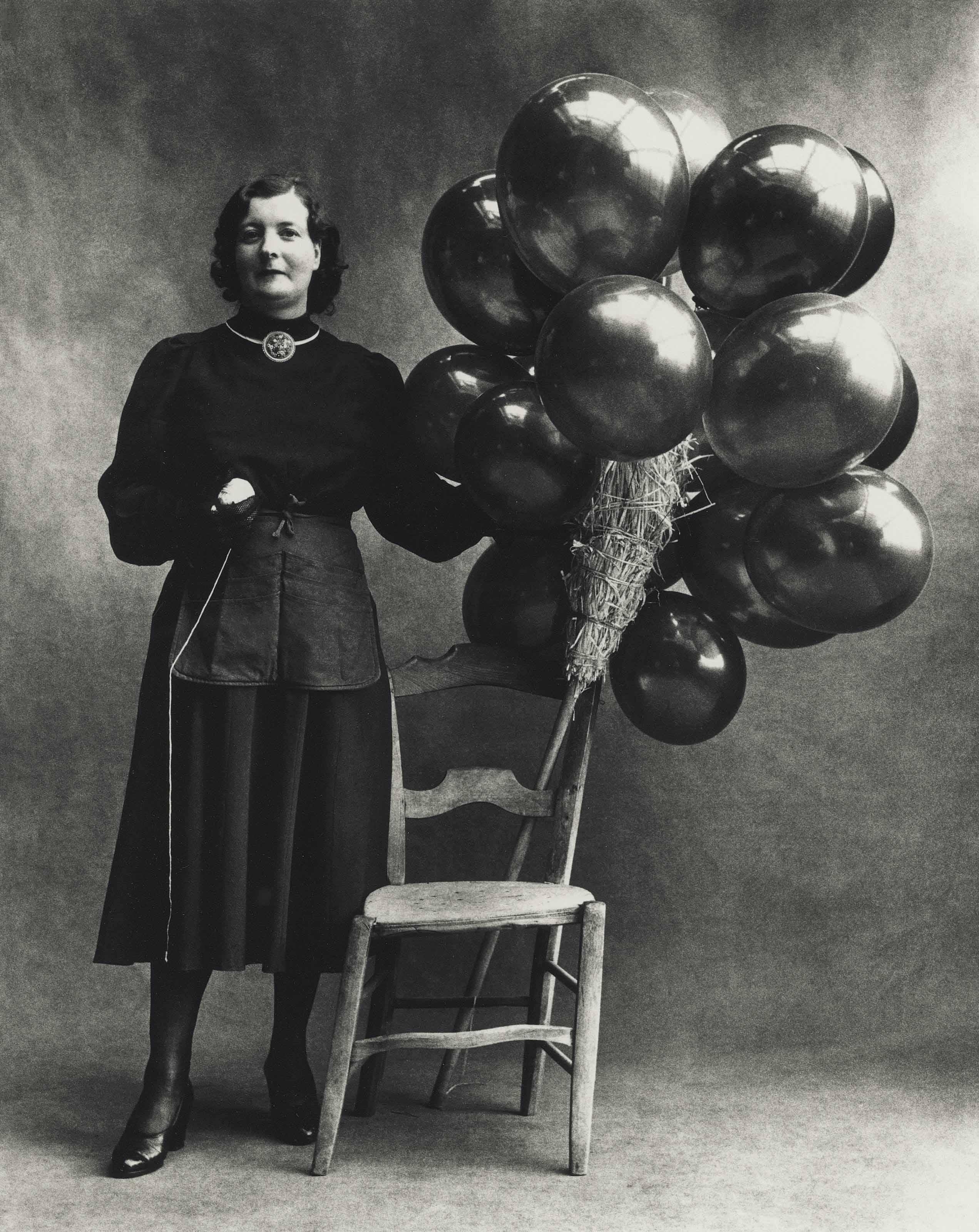 PENN La vendeuse de ballons