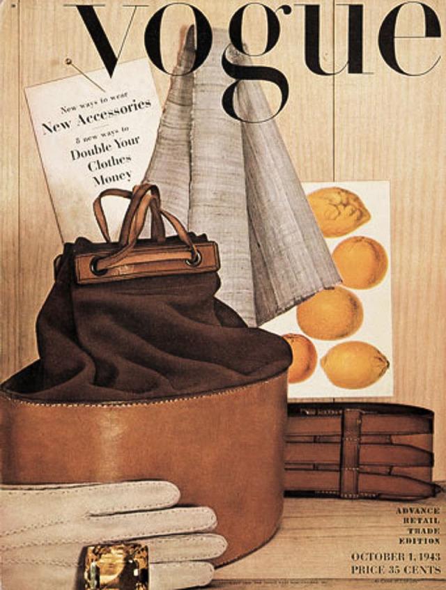 PENN première couverture Vogue 1943
