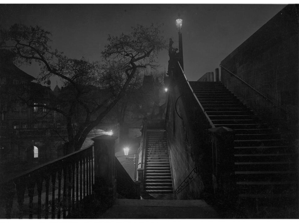 SUDEK Josef 1959 Prague la nuit