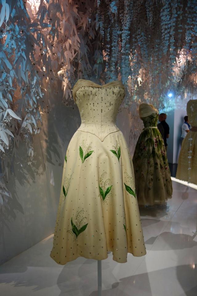 DIOR Robe muguet