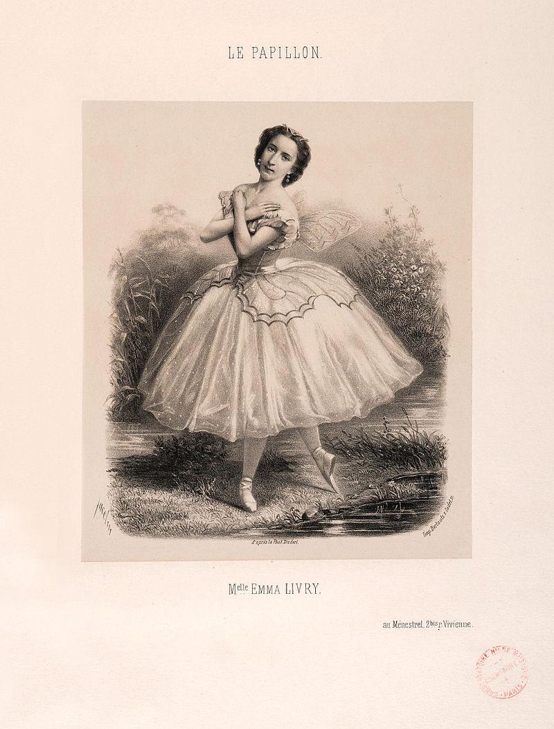 Emma LIVRY Papillon