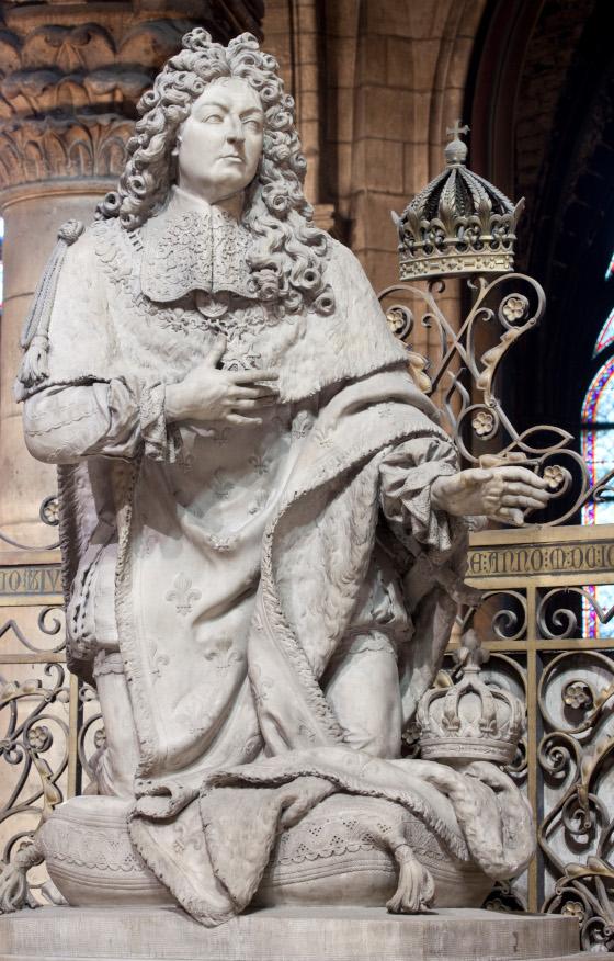 LOUIS XIV priant