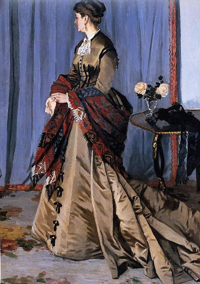 MONET Mme Gaudibert