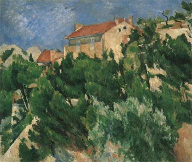 CEZANNE paysage en provence