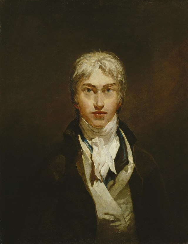 TURNER autoportrait TATE GALLERY de Londres