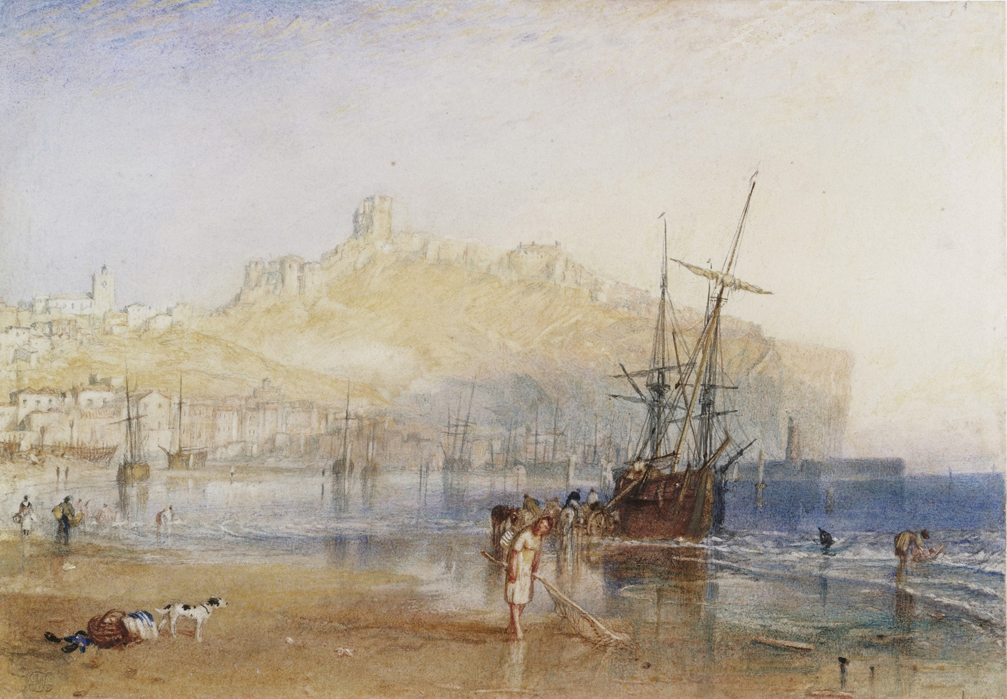 TURNER Scaborough 1825