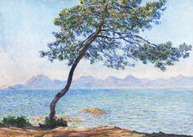 Atelier des lumières Claude Monet Antibes 1888 Collection Courtauld galerie Courtauld de Londres