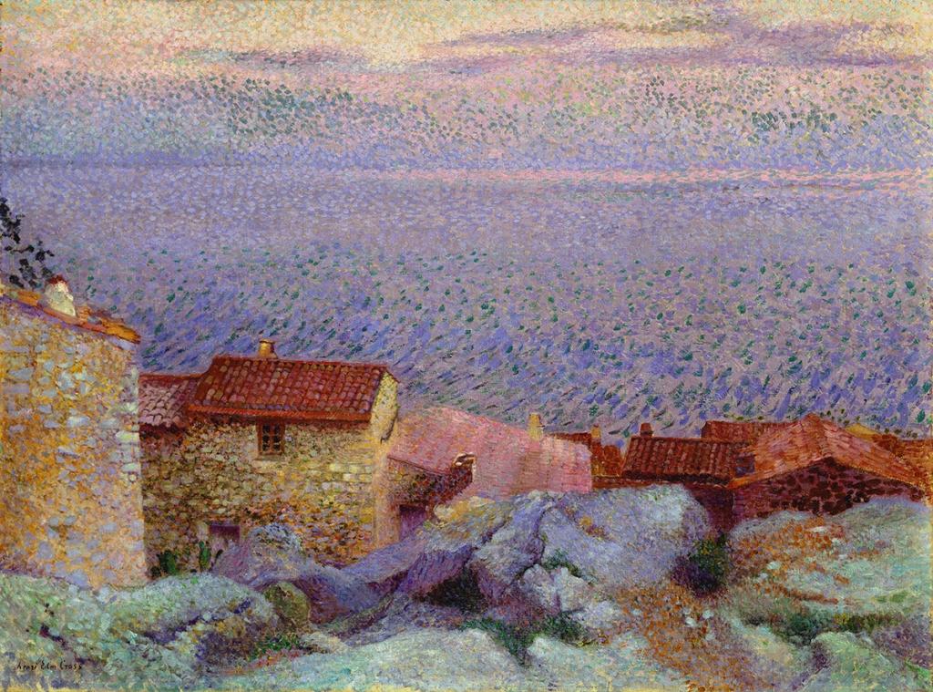 Atelier des lumières Henri-Edmond Cross Paysage côtier Collection privée