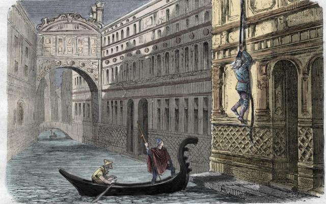 CASANOVA Autre illustration supposant l'évasion de Casanova de la prison des Plombs Elle est parue dans le Dictionnaire populaire illustré en 1864