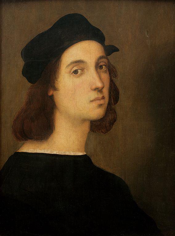 RAPHAEL auto portrait