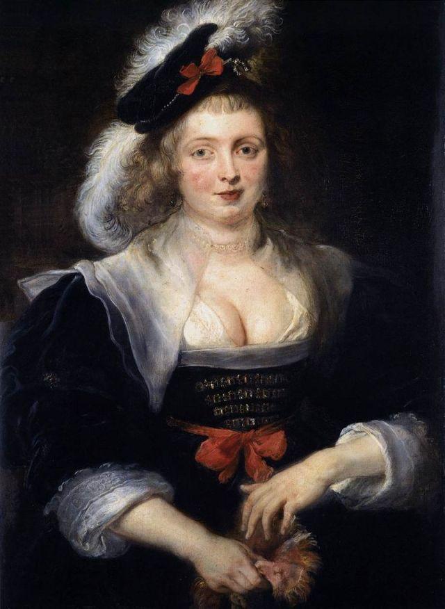 RUBENS hélène Fourment entre 1630 et 1632