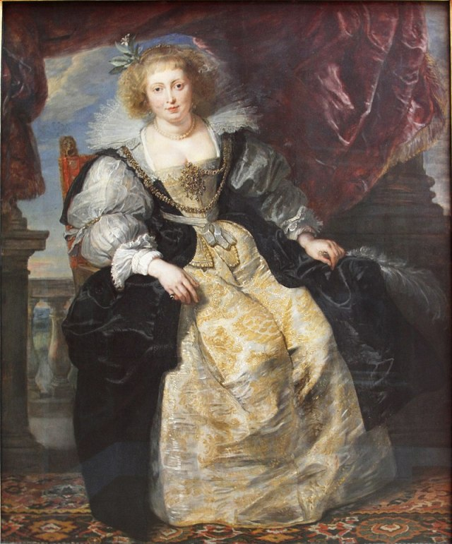 RUBENS Helene_Fourment dans sa robe de mariée