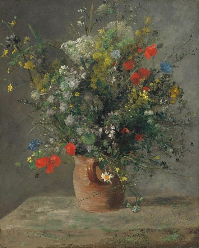 RENOIR Fleurs dans un vase