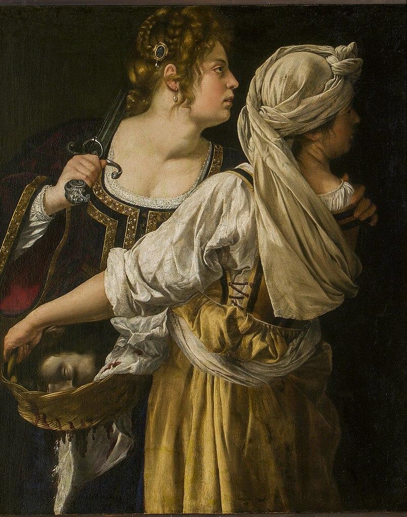 ARTEMISIA Judith et sa servante 1618 2
