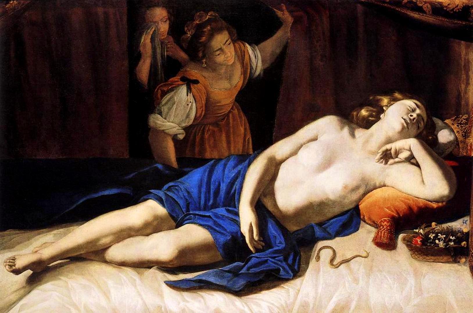 ARTEMISIA La mort de Cléopâtre