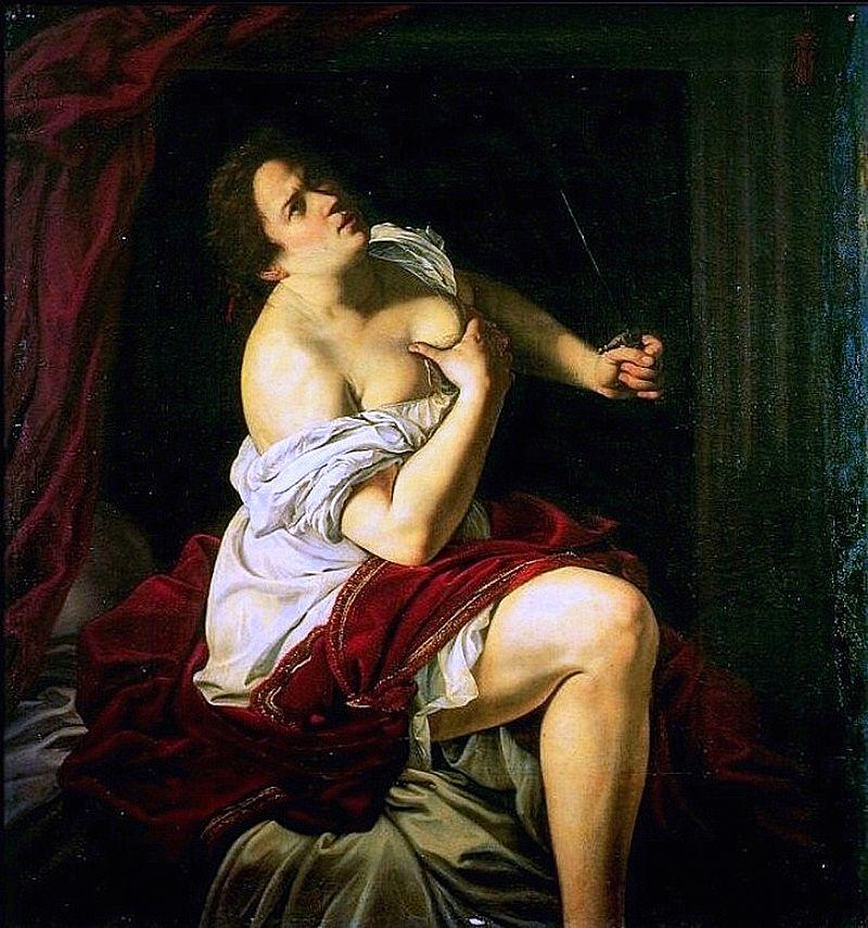 ARTEMISIA Lucrèce 1620