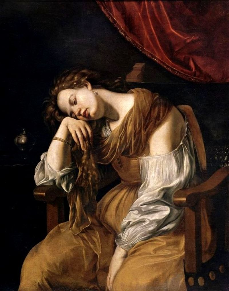 ARTEMISIA Marie Madeleine 1621