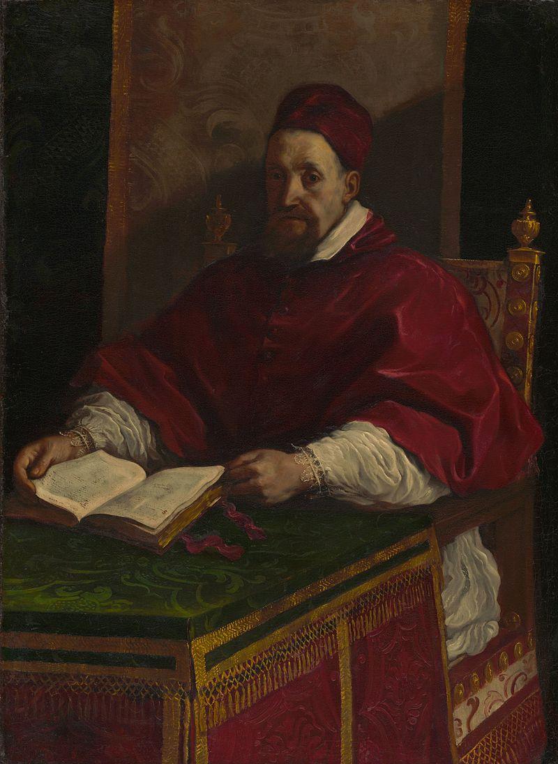 ARTEMISIA pape Grégoire par LE GUERCIN