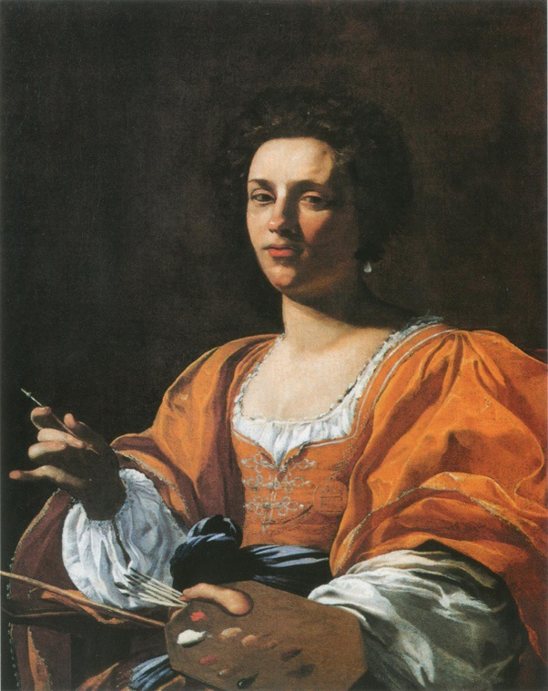ARTEMISIA Portrait d'Artemisia 1625 par Simon VOUET