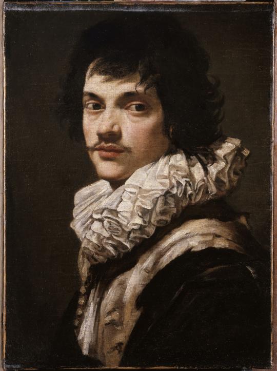ARTEMISIA Simon Vouet portrait d'un jeune homme