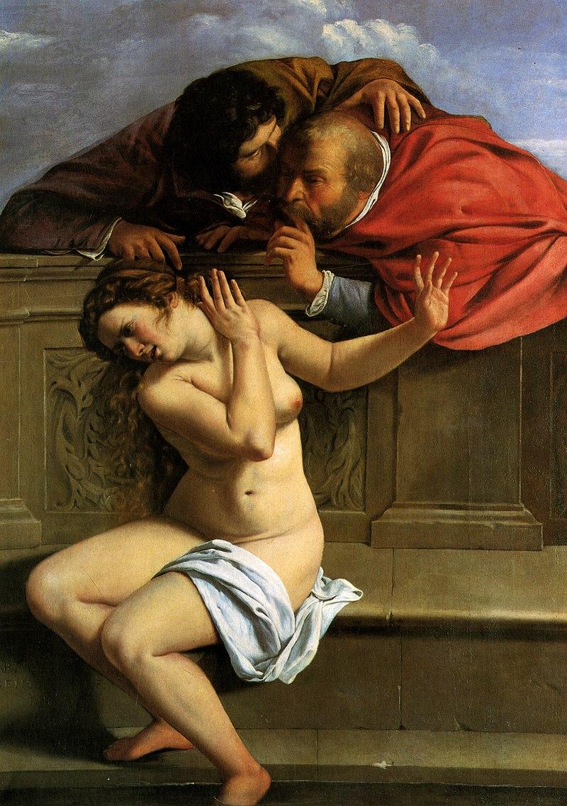 ARTEMISIA Suzanne et les vieillards 1610