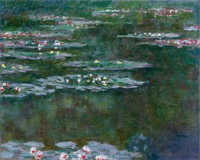 MONET Nymphéas 1904