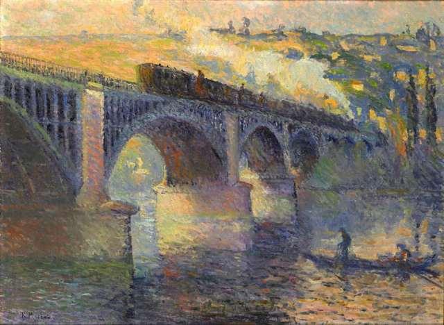 ROUEN Pinchon le pont des anglais