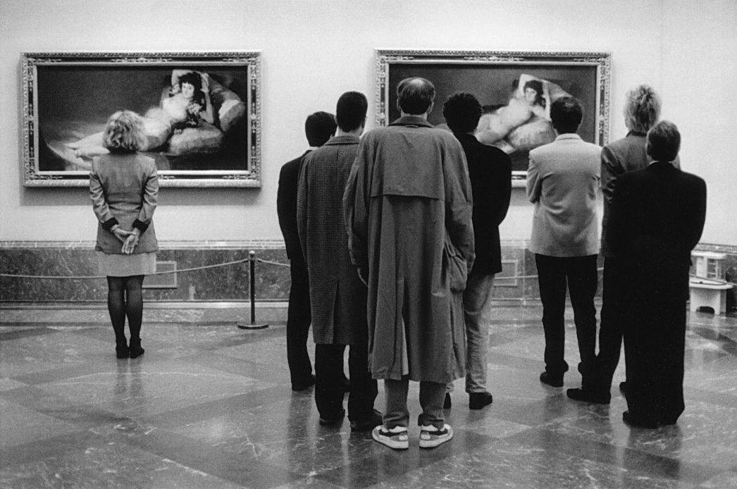 ERWITT Musée du Prado 1995