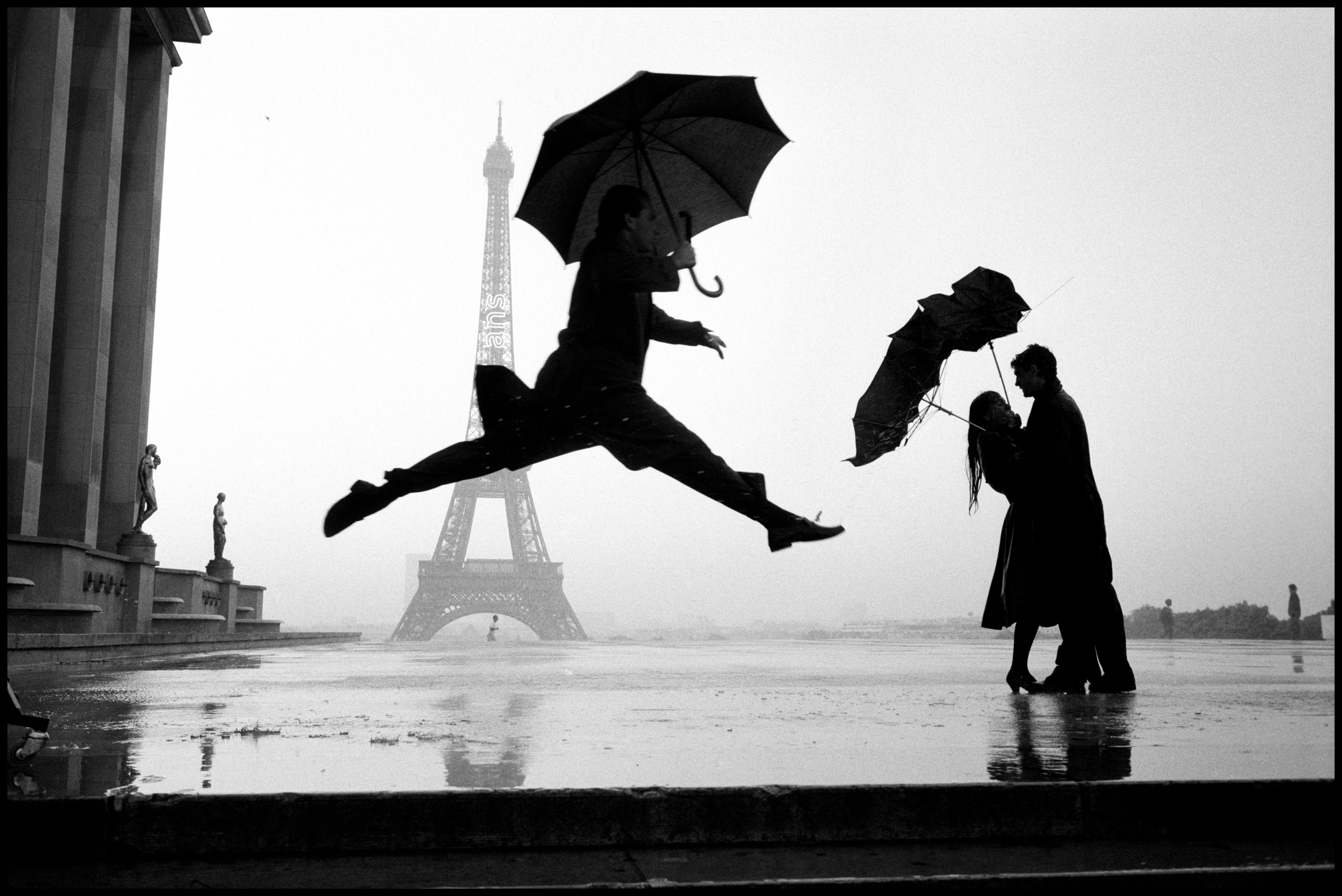 FRANCE. Paris. 1989. Eiffel tower 100th anniversary.