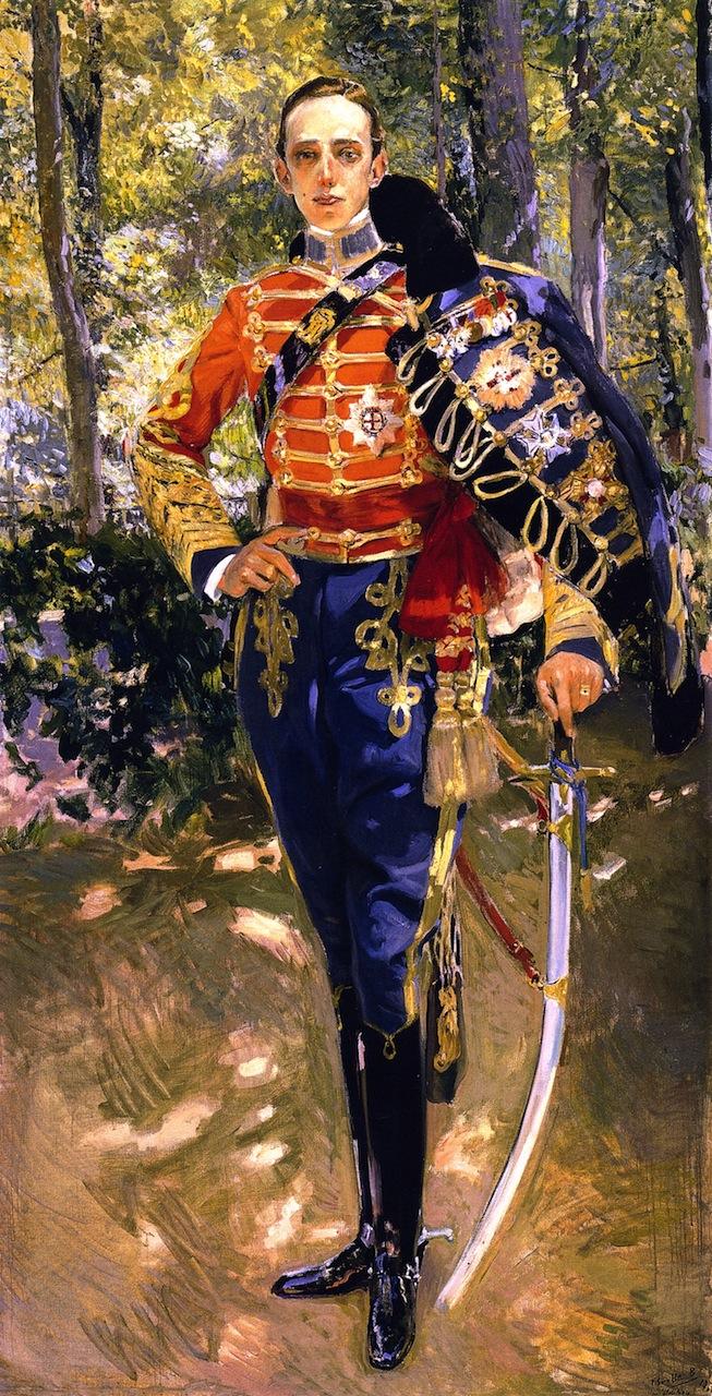 SOROLLA Alfonso III palais royal de Madrid