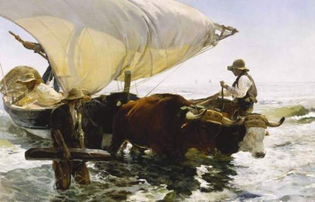 SOROLLA retour de la pêche